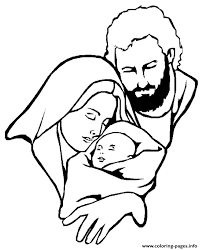Small Picture mary with baby jesus Coloring pages Printable