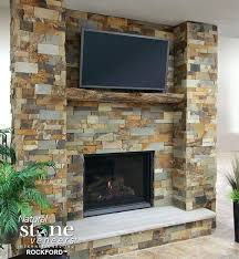 stone veneer fireplace fireplace can you install stone veneer over brick fireplace