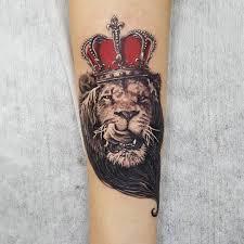 лучший значение татуировки лев на левой руке плече ноге груди