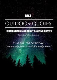 inspirational and funny camping es