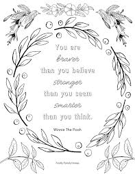 Get the coloring page here the smallest act of kindness coloring page and change the world to a better place here (it really is all about small acts that come together). Free Inspirational Quote Coloring Pages For Adults
