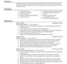 Delivery Driver Job Description Advertising Executive Resume