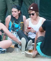 Semi Exclusive Kristen Stewart Alicia Cargile At The Coachella.