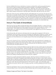essay on irony in the cask of amontillado essay writing service last anonymous prof alex tavares enc 1102