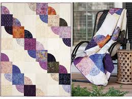 Drunkards Path Quilt Pattern Custom BLOCK Friday Drunkard's Path Quilt Block The Quilting Company