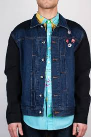 Куртка MISHKA City on Fire Denim Jacket (Indigo, L) | www.circpark.ru