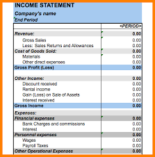 excel income statement excel and statement sportsnation club