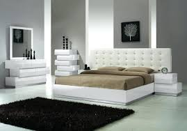 modern bedroom white. Contemporary White Medium Size Of Modern Bedroom White Platform Sets With Lights Canal  Furniture Contemporary Wood Headboards Intended O