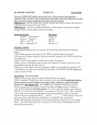 Company Report Template Examples Cover Letter Sample Business
