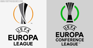 The uefa europa conference league (abbreviated as uecl), colloquially referred to as the uefa conference league, is an annual football club competition organised by the union of european football associations (uefa) for eligible european football clubs. All New Uefa Europa Conference League Logo Revealed Footy Headlines