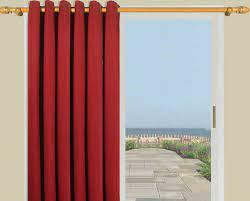 out grommet top curtain panels
