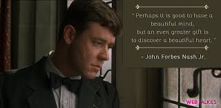 A Beautiful Mind Quotes About Schizophrenia Best Of Inspiring Quotes From A Beautiful Mind Mathematics Day Special