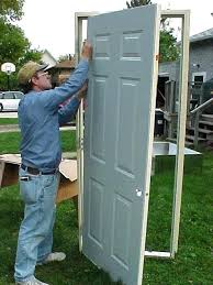 door frame replacement. Exterior Door Frame Replacement Cost Mobile Home Doors