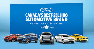 canada s best selling automotive brand eight years in a row