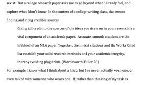 Example Works Cited Mla Format Papers Step By Step Tips For Writing Research Essays