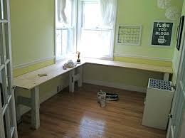 diy l shaped desk l shaped desk we used this as inspiration for building our desk diy l shaped desk