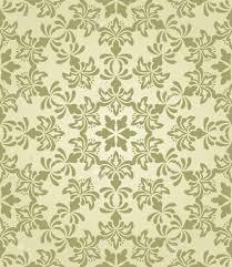 Vector Naadloze Vintage Behang Patroon Op Gradiënt Achtergrond