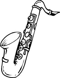 Coloriage Saxophone A Imprimer L L L L L L L L L L L