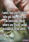 i got high and felt like i was dying