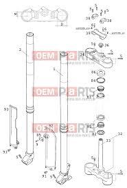 2001 ktm 300exc wiring diagram wiring diagram and schematic ktm 250 exc eu fork usdd43 wp 380 2001 alkatrészek gt oem