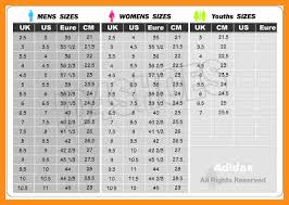 Adidas Men Shoes Size Chart 1 Adidas Womens Shoes Size Chart Emrodshoes Adidas Mens
