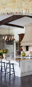 french country kitchen counter wood and yes to the island color and backsplash