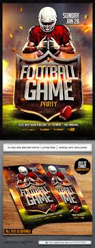 football flyer template com your template football flyer template
