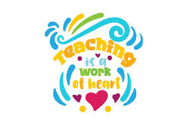 Teaching Is A Work Of Heart Svg Cut File By Creative Fabrica Crafts Creative Fabrica