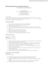 Professional Administrative Assistant Resume Livtoeat Co
