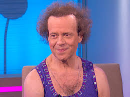 richard simmons sweat band. fitness guru richard simmons is 65 today 7-12. he was born in 1948 sweat band y