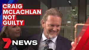 Not guilty verdict for Craig McLachlan ...