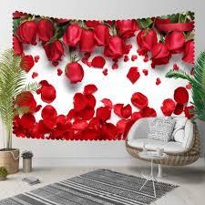 else red roses rose leaves romantic