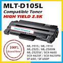 Чип SAMSUNG MLT-D105L ДЛЯ ML 1910/1915/2525/2580/SCX4600/SCX4623 2.5K