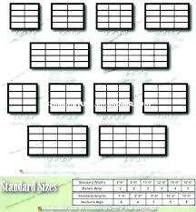 Commercial Garage Door Size Chart Garage Doors Sizes Evaoglesbee Co