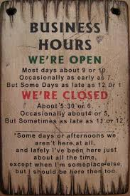 rustic office decor. pine wood business hours sign rustic office decor u