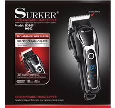 Tông đơ cắt tóc chuyên nghiệp tông đơ hớt tóc trẻ em và người lớn surker  805 tông đơ cắt tóc surker 805 chất hơn jichenkemeicodosphilipsxiaomifade  (màu đen): Mua bán trực tuyến