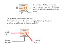 Generous 5 Wire Relay Wiring Diagram Photos Electrical
