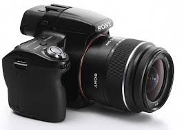 sony digital slr camera. most dslr cameras use phase detection af to either focus or shoot. however, the sony handles both tasks simultaneously while delivering high-quality photos digital slr camera a