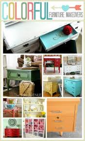 old furniture makeovers. Colorful Furniture MakeoversThese Are Simply ADORABLE! Pin Now And Paint Later ;) Old Makeovers