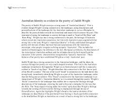 n identity as evident in the poetry of judith wright document image preview