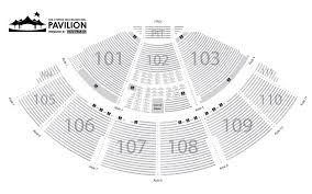 cynthia woods mitc pavilion seating chart lovely venue maps