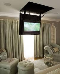 secret hatch reveals bedroom tv