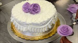 How To Make A Perfect And Easy Purple Birthday Cake Tutorial Youtube