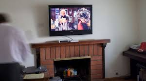 strikingly beautiful wall mount tv over fireplace 20