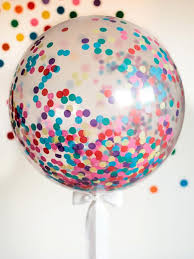 how to make a giant confetti balloon