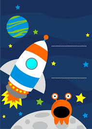 Space Party Invitation Space Party Invitations Cute Party Printables