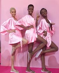 pin it six black models walking victoria s secret this year one of them