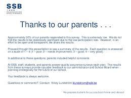 School Survey Questions For Parents Parents Survey 2013