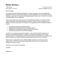 Leading Professional Online Marketer And Social Media Cover Letter