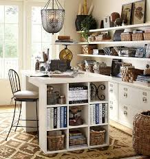 craft room ideas bedford collection. Bedford Project Table Set For Your Home Office Space Via Pottery Barn Craft Room Ideas Collection A